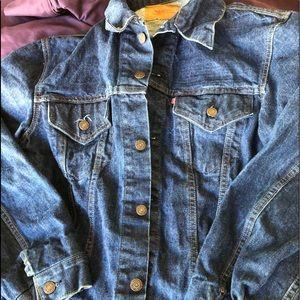 Levi Strauss Denim Jacket 1X